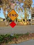 Dead End in Soft Glowing Light Stock Photos