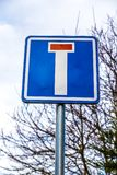 Dead End Street Sign. Dead End Street Traffic Sign Stock Photography