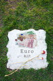 Dead of euro Stock Images
