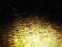 Dead gold royalty free stock photography