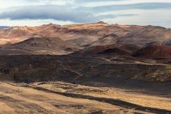 Dead hills, extreme landscape Stock Image