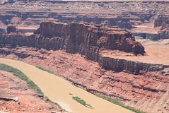 Dead Horse Point. At Utah Park stock image