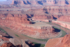 Dead Horse Point Canyon Royalty Free Stock Image