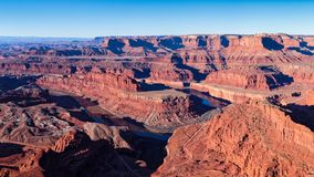 Dead Horse Point with the Colorado River near Moab, Utah Royalty Free Stock Photography