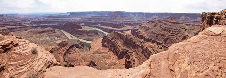 Dead Horse Point, Colorado river, Utah, USA. Royalty Free Stock Photography