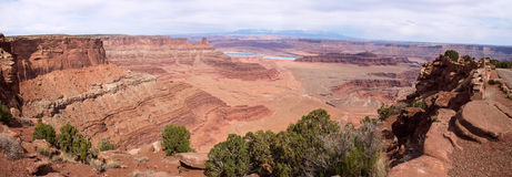 Dead Horse Point, Colorado river, Utah, USA. Royalty Free Stock Photos