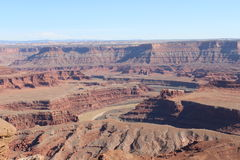 Dead horse point Moab UT. Royalty Free Stock Photography