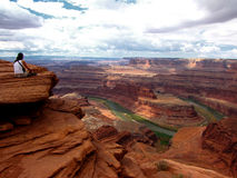 Dead Horse Point overlook Royalty Free Stock Photo