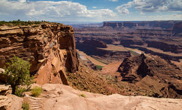 Dead Horse Point Overlook Royalty Free Stock Image