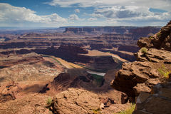 Dead Horse Point Overlook Stock Image