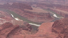 Dead Horse Point Scenic Landscape stock video footage