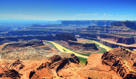 Dead horse point state park Royalty Free Stock Images