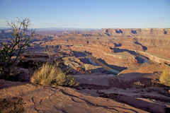 Dead Horse Point State Park Landscape Royalty Free Stock Photo