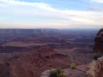 Dead Horse Point State Park at Sunset Royalty Free Stock Photography
