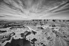 Dead Horse Point State Park, Utah, USA. Colorado River and Canyonlands National Park seen from the Dead Horse Point State Park, Utah, USA Stock Photos