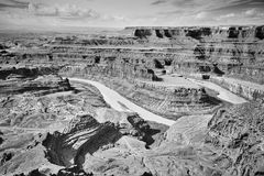 Dead Horse Point State Park, Utah, USA. Colorado River and Canyonlands National Park seen from the Dead Horse Point State Park, Utah, USA Royalty Free Stock Photo