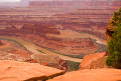 Dead horse point view Stock Photo