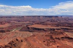 Dead horse view in Utah Stock Images