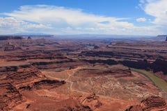 Dead horse view in Utah Royalty Free Stock Image