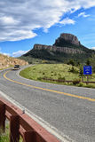 Dead Indian Highway, Cody Wyoming Royalty Free Stock Photos