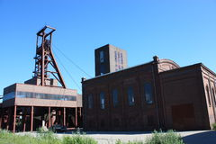 Dead Industry-Coal Mine Stock Photography