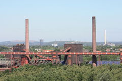 Dead Industry-Coal Mine Royalty Free Stock Photo