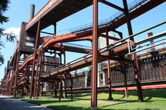 Dead Industry-Coal Mine Stock Photo