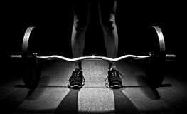 Dead lift set Stock Photography