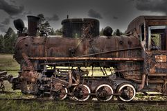 Dead Machinery Royalty Free Stock Photography