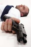 Dead man Royalty Free Stock Photo