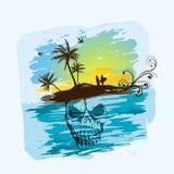 Dead Man's Island Royalty Free Stock Photo