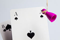 Dead mans hand Royalty Free Stock Photography