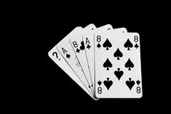 Dead mans hand Royalty Free Stock Photo