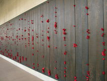 The dead memorial wall Royalty Free Stock Photos