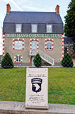 Dead men's corner museum in normandy france Royalty Free Stock Photos