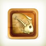 Dead pet icon Royalty Free Stock Photo