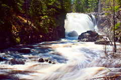 Dead River Falls Stock Images