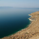 Dead sea. View from the Jordan's border Royalty Free Stock Image
