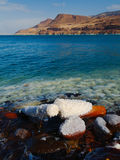 Dead sea. View from the Jordan's border Stock Photo