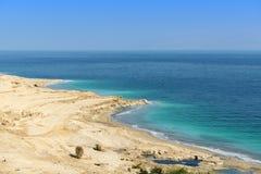 Dead sea. View of Dead Sea, Israel Royalty Free Stock Photo