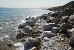 Dead Sea. Seashore of the Dead Sea Royalty Free Stock Photography