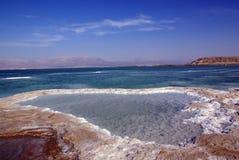 Dead sea. View to the Dead Sea and mountain Sdom Stock Photos