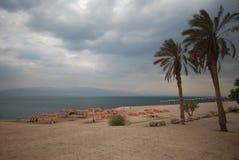 Dead sea beach. A beach at the dead sea in Israel Stock Photos