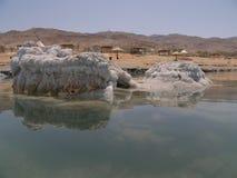 Dead Sea beach. In Jordan Stock Photography