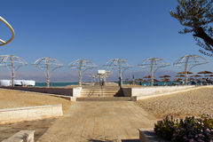 Dead Sea beach Stock Image
