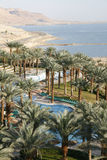 Dead sea beach hotels. View Stock Images