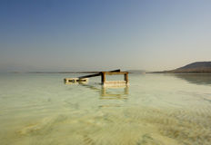 Dead sea beach. In Israel Royalty Free Stock Images