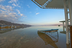 Dead Sea Beach Stock Photo