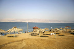 Dead sea beach  resort Royalty Free Stock Image