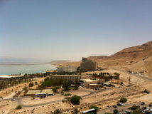 Dead Sea. Beautiful Dead Sea in summer Royalty Free Stock Photography